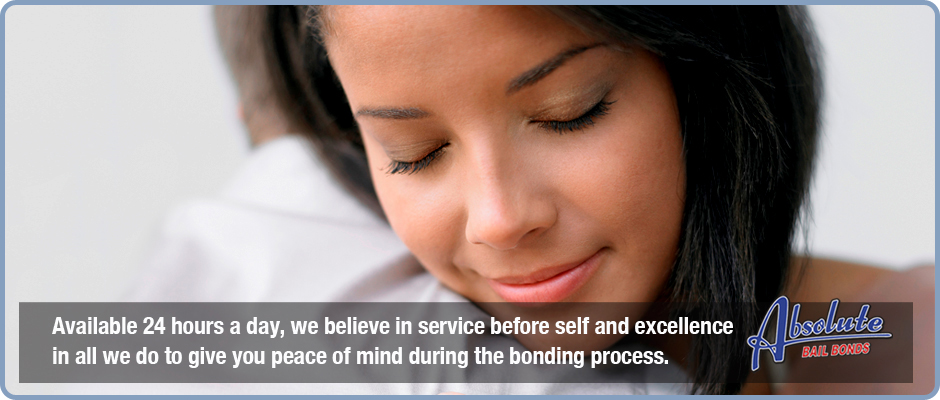 Available 24 hours a day, we believe in service before self and excellence in all we do to give you peace of mind during the bonding process.