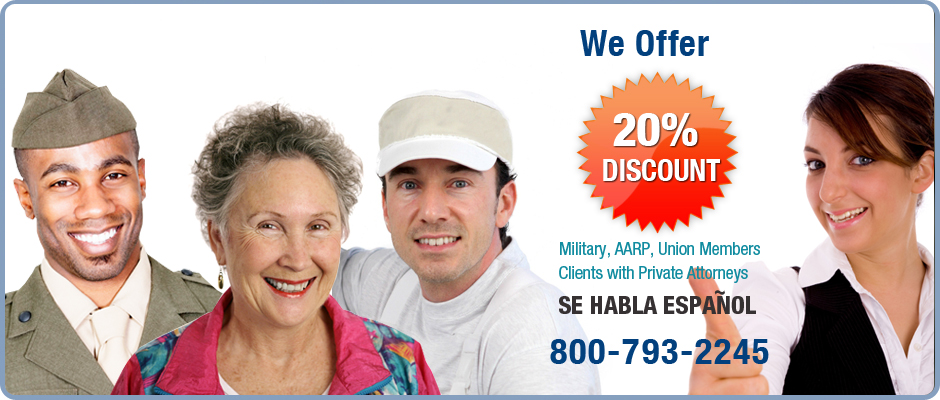 We Offer 20% Discounts