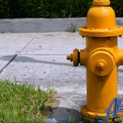 parking in front of a hydrant