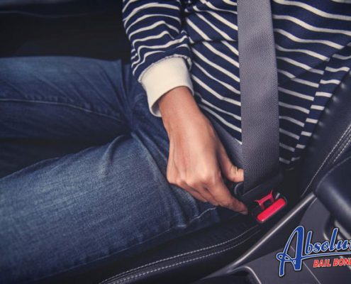 absolute bail bonds california seat belt laws