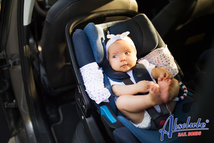 absolute bail bonds car seat laws